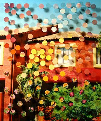 Tucsoncenter Ss2blue Print by Irmari Nacht