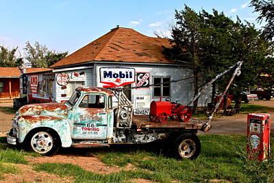 Route 66 Photograph - Tucumcari Trading Post by Ellen and Udo Klinkel