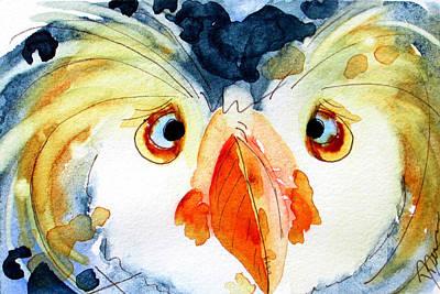 Tufted Puffin Original by Dawn Derman