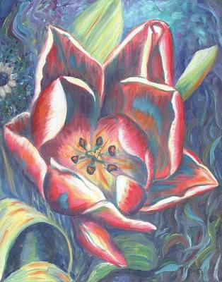 Tulip Painting - Tulip Two by Linda Mears