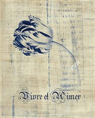 Tulip - Vivre Et Aimer S04t03t Print by Variance Collections