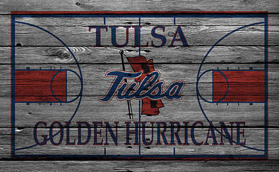 Tulsa Golden Hurricane Print by Joe Hamilton