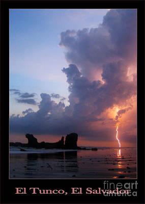 Surfing Photograph - Tunco Card When Beauty Stroke by Stav Stavit Zagron