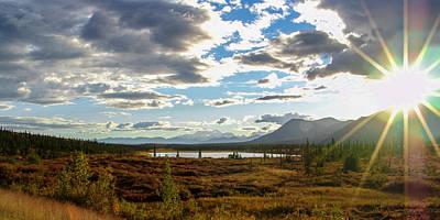 Pond Photograph - Tundra Burst by Chad Dutson