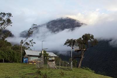 Tungurahua Volcano Print by Dr Morley Read