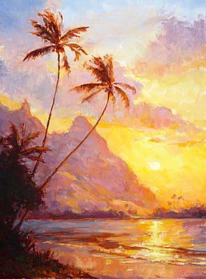 Painting - Tunnels Sunset by Jenifer Prince