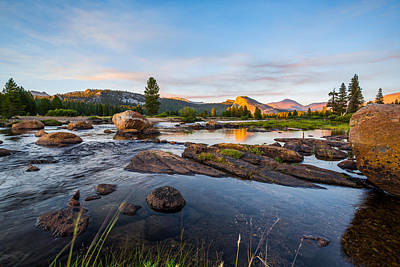 Tuolumne River Print by Mike Lee