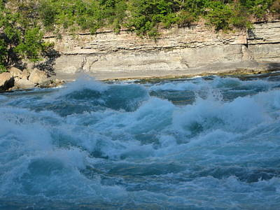 Mystical Photograph - Turbulent Waters by Brandie Marshall