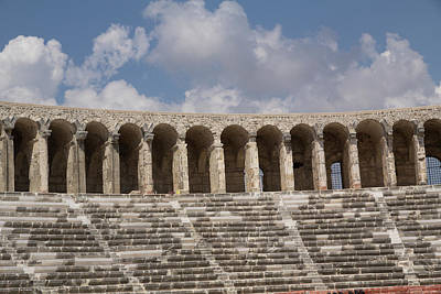 Outdoor Theater Photograph - Turkey, Aspendos by Emily Wilson