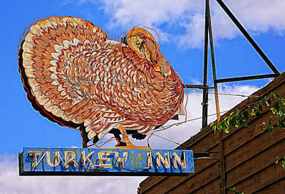 Turkey Inn Print by Ron Regalado