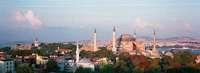 Hagia Sophia Photograph - Turkey, Istanbul, Hagia Sofia by Panoramic Images