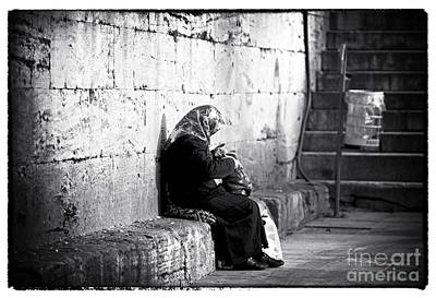 Galata Photograph - Turkish Woman by John Rizzuto