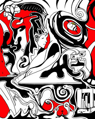 Turmoil Print by Craig Tilley