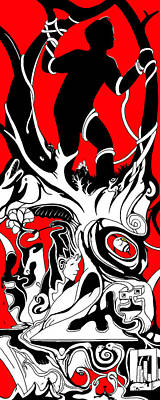 Turmoil Restraint Print by Craig Tilley