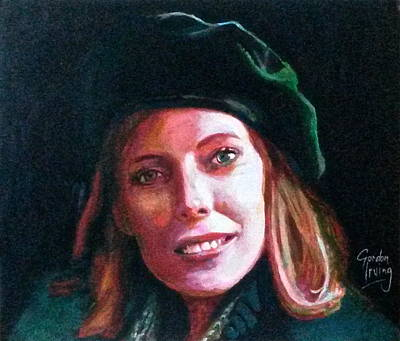 Joni Mitchell Painting - Turn Your Gaze by Gordon Irving