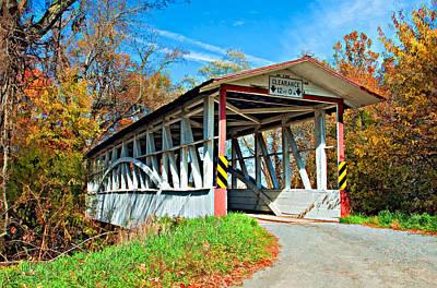 Covered Bridge Photograph - Turner's Covered Bridge by Steve Harrington
