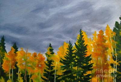 Turning Of The Aspens Original by Katrina West