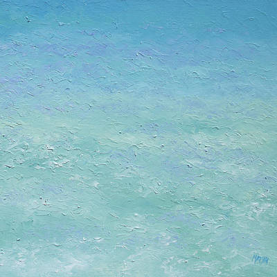 Seascape Painting - Turquoise Ocean 2 by Jan Matson