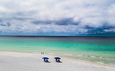 Sandy Photograph - Turquoise Waters by Shelby  Young