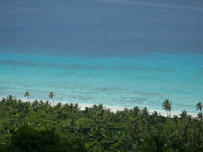 Photograph - Turquoise Waters Tropical Island Beach by
