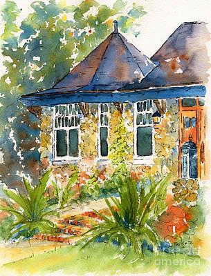 Turret House Print by Pat Katz