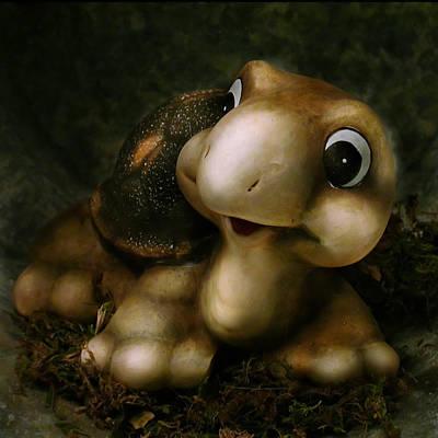 Pop Surrealism Photograph - Turtle by Diane Bradley