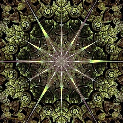 Portal Mixed Media - Turtle Gates by Anastasiya Malakhova