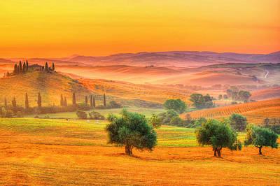 Tuscan Dream Print by Midori Chan