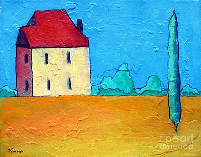 Painting - Tuscan Landscape by Venus