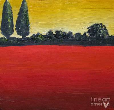 Tuscan Sunrise Print by Venus