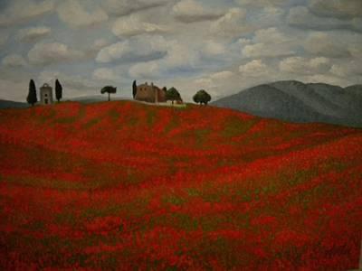 Tuscany Print by Abigail Avila