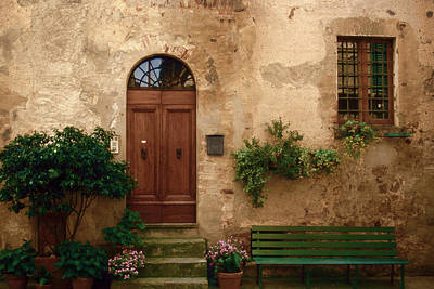 Door Photograph - Tuscany At Your Doorstep by Andrew Soundarajan
