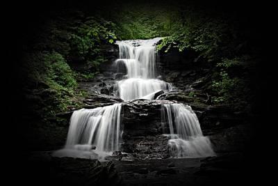 Creek Photograph - Tuscarora Falls by Timothy Coover