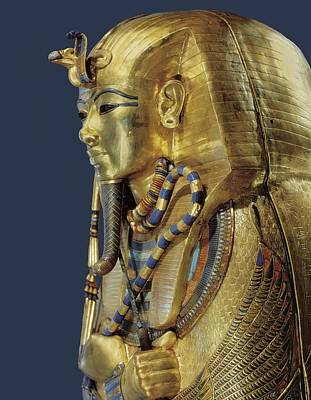 Tutankhamuns Second Sarcophagus. 1333 Print by Everett