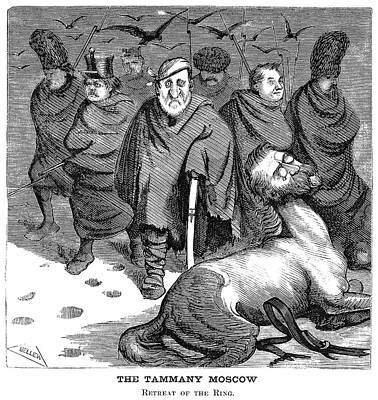 Tammany Painting - Tweed Cartoon, 1871 by Granger