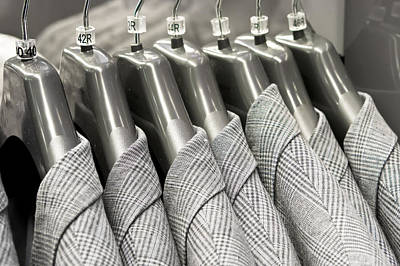 Clothes Clothing Photograph - Tweed Suit Jackets by Tom Gowanlock