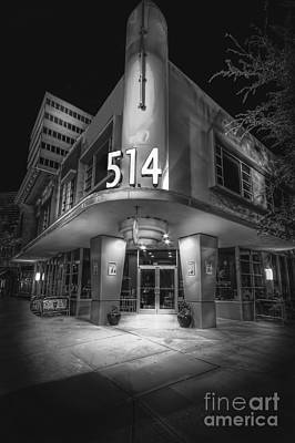 Storefront Photograph - Twiggs 514 Indigo by Marvin Spates