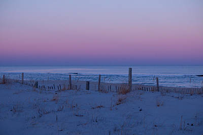 Twilight At Island Beach Original by Kristia Adams