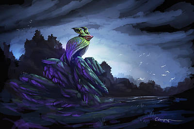 Fairy Tale Digital Art - Twilight Hour by Cassiopeia Art