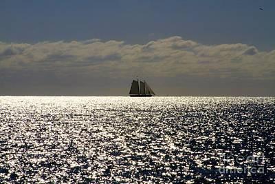Twilight In Key West Print by Sean Conklin