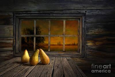 Pear Digital Art - Twilight Of The Evening by Veikko Suikkanen