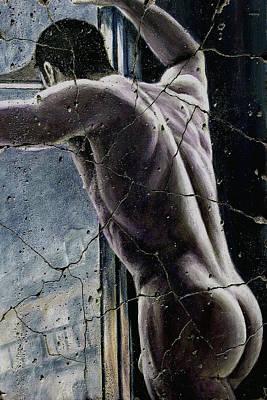 Male Painting - Twilight - Study No. 1 by Steve Bogdanoff