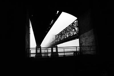 Twin Bridges Print by Leon Hollins III