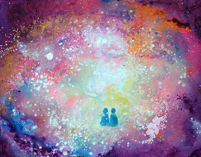 Twin Flame Painting - Twin Flames by Ashleigh Dyan Bayer