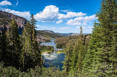 Mammoth Photograph - Twin Lakes In Mammoth Lakes In California. by Jamie Pham