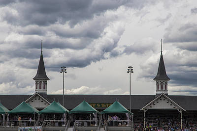 Twin Spires Print by John McGraw