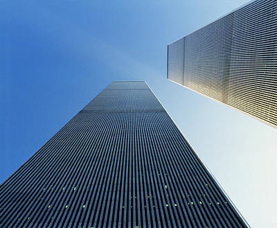 Twin Towers Print by Jon Neidert