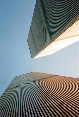 Twin Towers  Print by Patricia Januszkiewicz