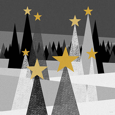 Twinkle Lights Print by Val Arie