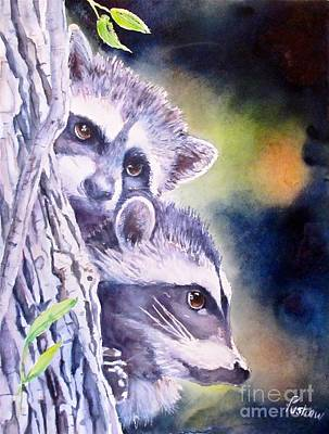Twins On The Prowl Original by Patricia Pushaw